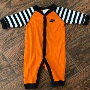 Baby Button Down Halloween Sleeper 0-3 Months